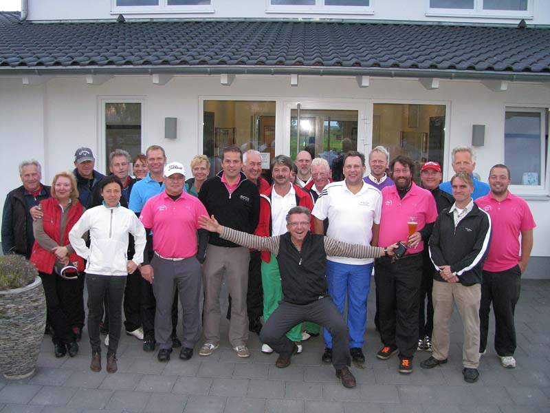 Gruppenfoto Golf in Wall